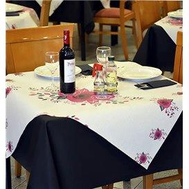 "Toalha Papel Cortado Mesa 1,2x1,2m ""Bouquet"" 37g (300 Uds)"