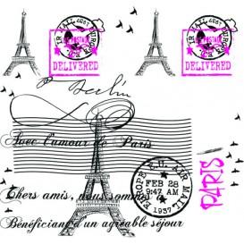 """Toalha Papel Cortado Mesa 1,2x1,2m """"Paris"""" 37g (300 Uds)"""