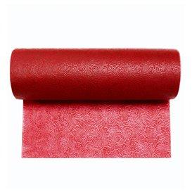 Toalha em Rolo Não Tecido PLUS Vermelho 0,40x45m P30cm (1 Ud)