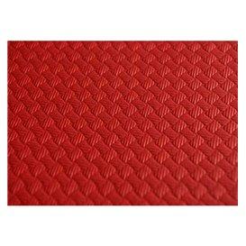 Toalha Papel Cortado Mesa Vermelho 1,2x1,2 Metro 40g (300 Uds)