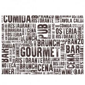 "Toalhete Papel Mesa 30x40cm ""Gourmet"" 40g (1000 Uds)"