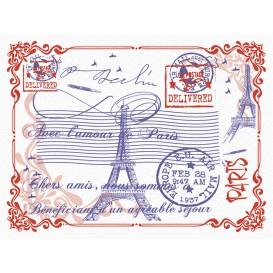"""Toalhete Papel Mesa 30x40cm """"Paris"""" 40g (1000 Uds)"""