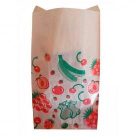 Saco Papel Kraft para Fruta 18+10x28 cm (100 Unidades)