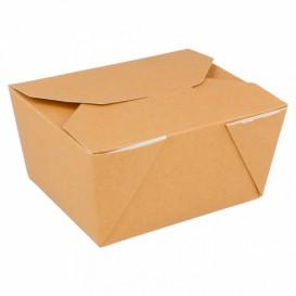 Caixa Cartão TakeAway Kraft 19,7x14x9cm 2880ml (40 Uds)