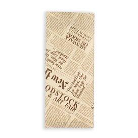 """Envelopes de Talheres com Guardanapo """"New York Times"""" (125 Uds)"""