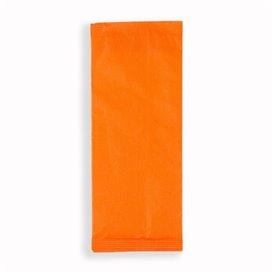 Envelopes de Talheres com Guardanapo Laranja (125 Uds)