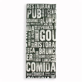 """Envelopes de Talheres com Guardanapo """"Gourmet"""" (125 Uds)"""