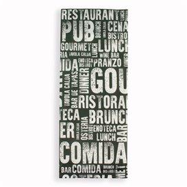 """Envelopes de Talheres com Guardanapo """"Gourmet"""" (1000 Uds)"""