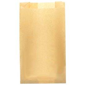 Saco de Papel Antigordura Kraft 14+7x24cm (250 Uds)