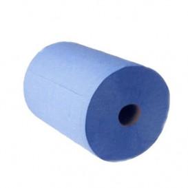 Rolo Seca Mãos Chemine 2F Azul 800g (6 Uds)