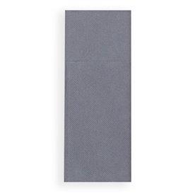 Guardanapos Kanguro Papel 30x40cm Cinza (30 Uds)