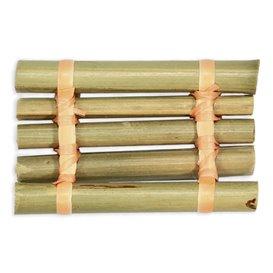 """Bandeja de Bambu """"Jangada"""" 8x5cm (24 Uds)"""