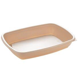Embalagem Plástico Creme 600ml 23x16,5cm (75 Uds)