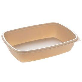 Embalagem Plástico Creme 900ml 23x16,5cm (75 Uds)