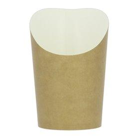 Copo Descartavel Anti-Gordura Efeito Kraft Pequeno (1320 Uds)