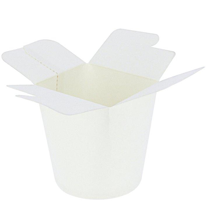 Embalagem Fechado Takeaway 100% ECO Branco 16Oz/480ml (50 Uds)