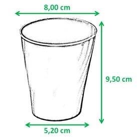 """Copo de Plastico PP """"X-Table"""" Preto 320ml (128 Unidades)"""