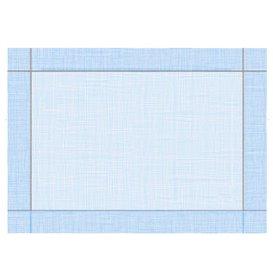 """Toalhete Papel Mesa 30x40cm """"Entre Linhas"""" Azul 40g/m² (1000 Uds)"""