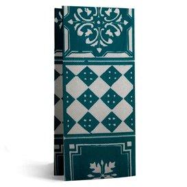 "Guardanapos Papel 1/8 33x40cm ""Alhambra"" Turquesa (50 Uds)"