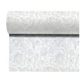 """Toalha em Rolo Não Tecido 0,4x48m """"Mandala"""" Cinza 50g/m² P40cm (6 Uds)"""