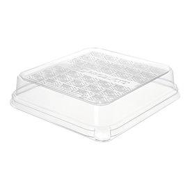 Embalagem para Tacos de Cana de Açúcar Branco 18,5x18,5cm (50 Uds)