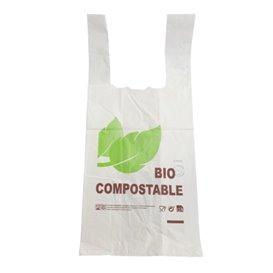 Saco Plastico Alça Biodegradável 100% 48x60cm 25µm (800 Uds)