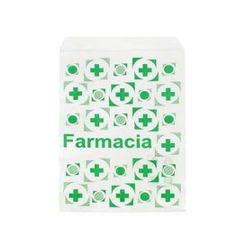 Saco de Papel Branco Farmácia 14x20 cm (250 Uds)