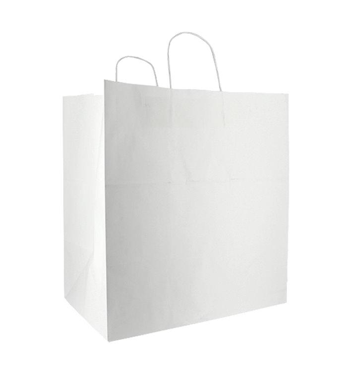 Saco Papel Branca Asas 100g/m² 36x24x39cm (50 Uds)