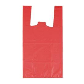 """Saco Plastico 70% Reciclado """"Colors"""" Vermelho 42x53cm 50µm (1.000 Uds)"""
