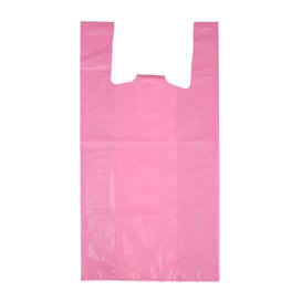 "Saco Plastico 70% Reciclado ""Colors"" Rosa 42x53cm 50µm (40 Uds)"