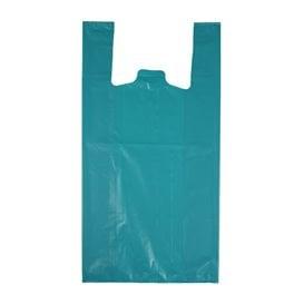 """Saco Plastico 70% Reciclado """"Colors"""" Azul 42x53cm 50µm (40 Uds)"""