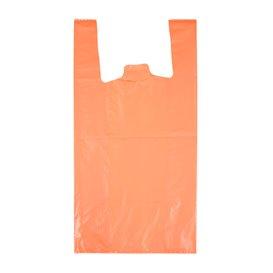 "Saco Plastico 70% Reciclado ""Colors"" Laranja 42x53cm 50µm (40 Uds)"