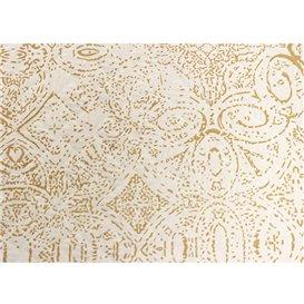 "Toalha Papel Cortado Mesa 1x1m ""Mozaik"" Creme 40g/m² (400 Uds)"