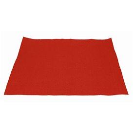 Toalhete de Mesa de Papel Vermelho 30x40cm 40g/m² (1.000 Uds)