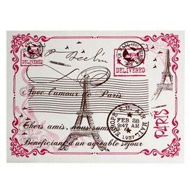 """Toalhete de Mesa de Papel Branco """"Paris"""" 30x40cm 40g/m² (1.000 Uds)"""
