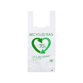 Saco Plastico 70% Reciclado 35x50cm 50µm (1.000 Uds)