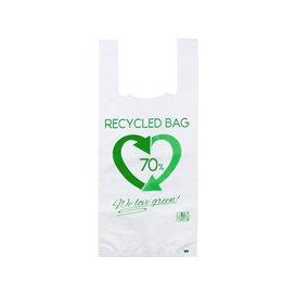 Saco Plastico 70% Reciclado 35x50cm 50µm (100 Uds)