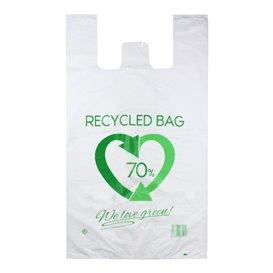 Saco Plastico 70% Reciclado 80x90cm 50µm (300 Uds)