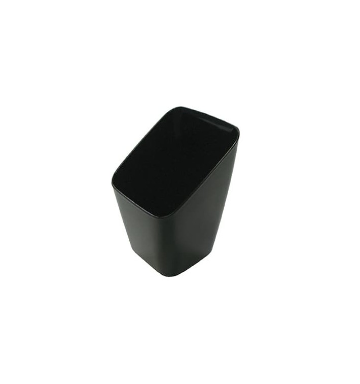 Copo Degustação Plástico Preto 4x4x7cm (200 Uds)