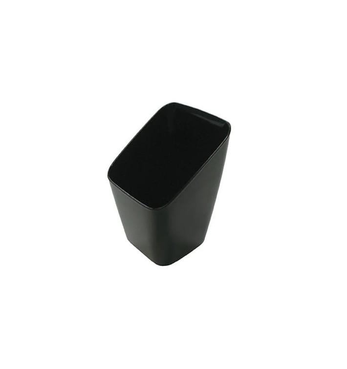 Copo Degustação Plástico Preto 4x4x7cm (20 Uds)