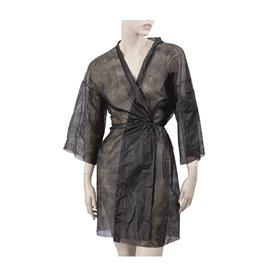 Bata Kimono en TST PP Tiras y Bolso Preto XL (100 Uds)