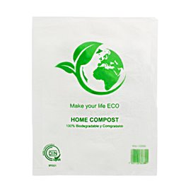 Saco Plastico Mercado Block 100% Home Compost 30x40cm (100 Uds)