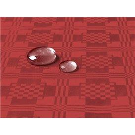 Toalha Papel Plastificado Rolo Vermelho 1,2x5m (1 Ud)