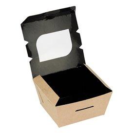 Embalagem Cartolina Janela 11x10x5,5cm 400ml (500 Uds)