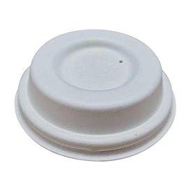 Tampa de Fibra Moldada Branco Ø6,2cm (50 Uds)