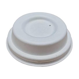 Tampa de Fibra Moldada Branco Ø6,2cm (2.000 Uds)