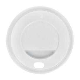 Tampa Perfurada Copo Branco 4Oz/120 ml Ø6,2cm (1000 Uds)