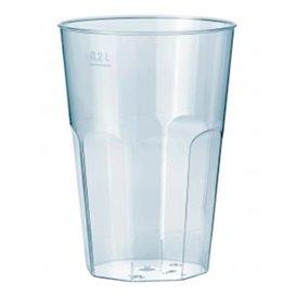 """Copo """"Deco"""" Transparente PP 200 ml (25 Uds)"""