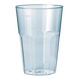 """Copo """"Deco"""" Transparente PP 300 ml (30 Uds)"""