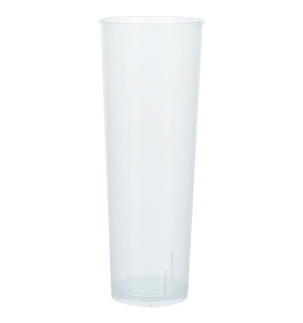 Copo Tubo Plastico Inquebráveis PP 330ml (10 Uds )